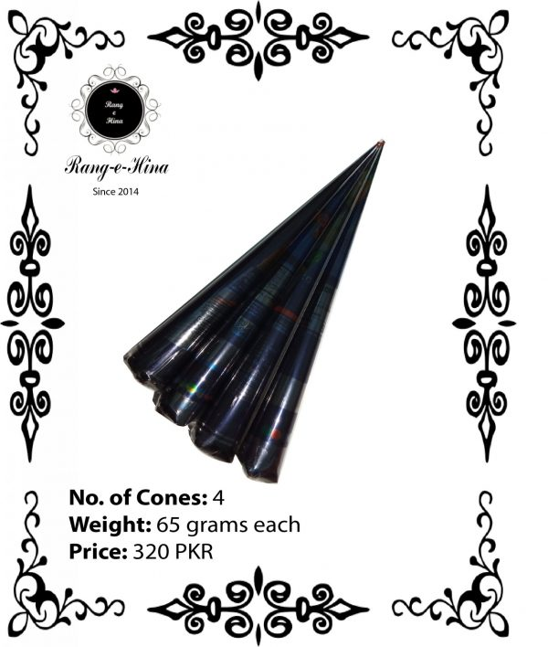 Buy 4 Mehndi cones