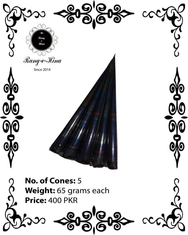 Buy 5 Mehndi cones