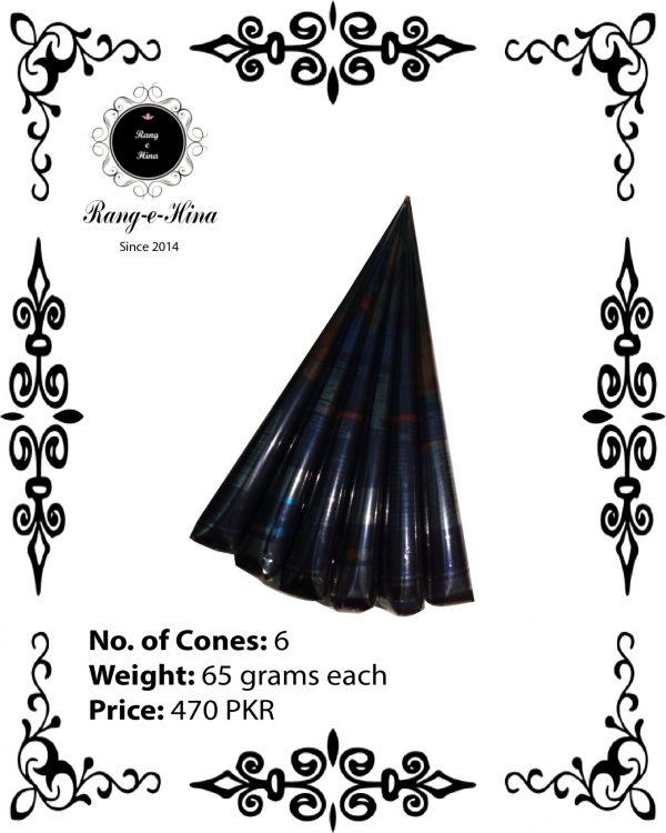 Buy 6 Mehndi cones