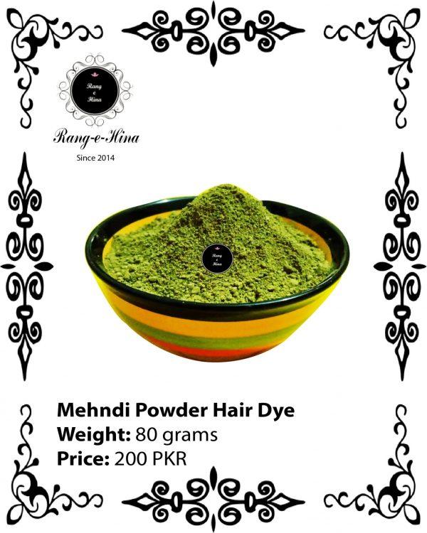Mehndi Powder Hair Dye